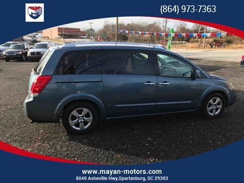 2009 Nissan Quest for sale in Spartanburg, SC
