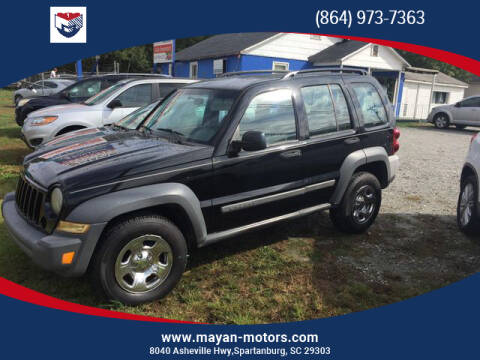 2005 Jeep Liberty for sale in Spartanburg, SC