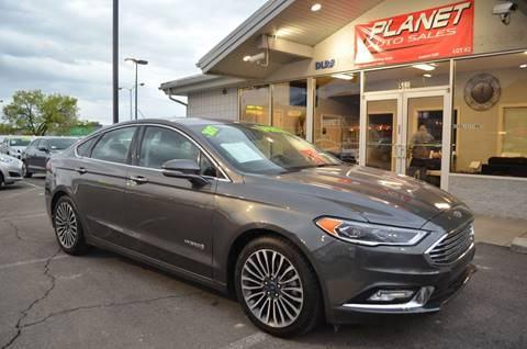 Ford Fusion Hybrid For Sale >> Ford Fusion Hybrid For Sale In Orem Ut Planet Auto Sales Orem