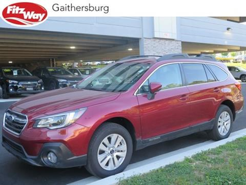2018 Subaru Outback for sale in Gaithersburg, MD