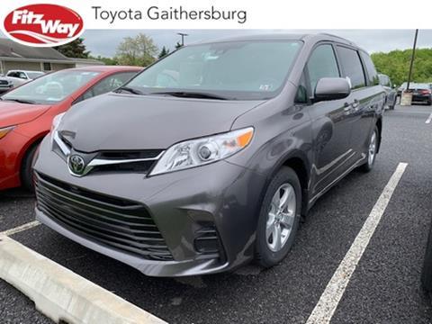 2019 Toyota Sienna for sale in Gaithersburg, MD