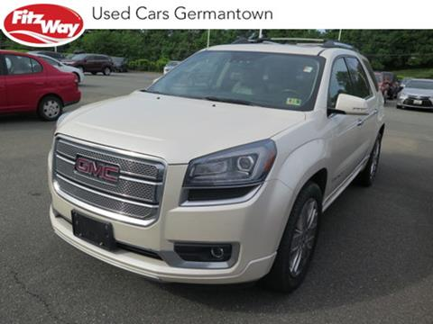 2014 GMC Acadia for sale in Germantown, MD