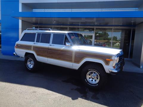 1989 Jeep Grand Wagoneer for sale in Jamestown, ND