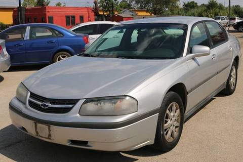 2001 Chevrolet Impala for sale in Arlington, TX
