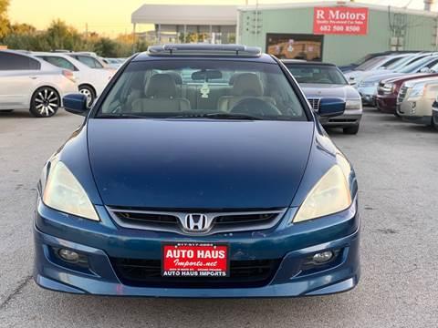 2006 Honda Accord for sale in Arlington, TX