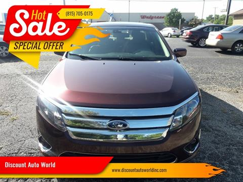2012 Ford Fusion for sale at Discount Auto World in Morris IL