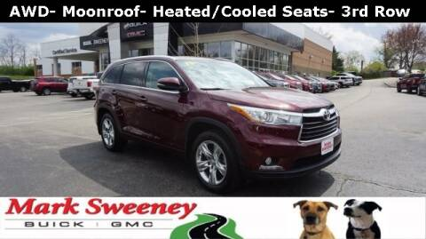2015 Toyota Highlander for sale at Mark Sweeney Buick GMC in Cincinnati OH