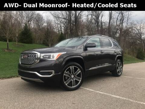 2017 GMC Acadia Denali for sale at Mark Sweeney Buick GMC in Cincinnati OH