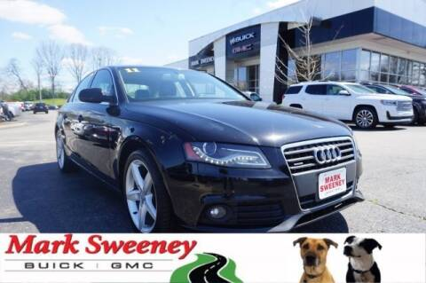 2011 Audi A4 2.0T quattro Premium Plus for sale at Mark Sweeney Buick GMC in Cincinnati OH