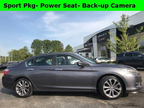 2014 Honda Accord for sale at Mark Sweeney Buick GMC in Cincinnati OH