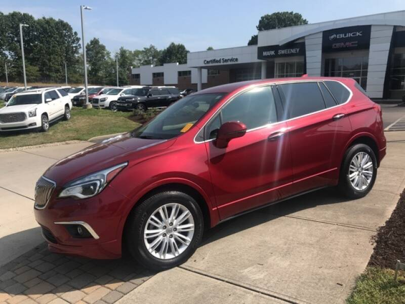 2017 Buick Envision for sale at Mark Sweeney Buick GMC in Cincinnati OH