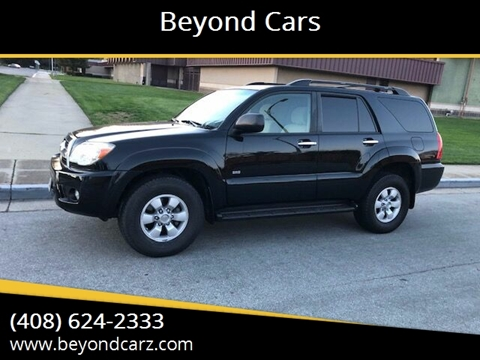 2007 Toyota 4Runner SR5 for sale at Beyond Cars in San Jose CA