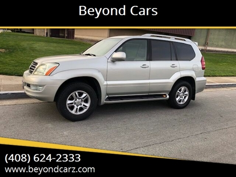 2004 Lexus GX 470 for sale at Beyond Cars in San Jose CA