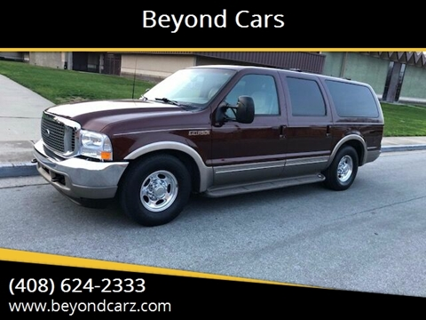 2001 Ford Excursion Limited for sale at Beyond Cars in San Jose CA