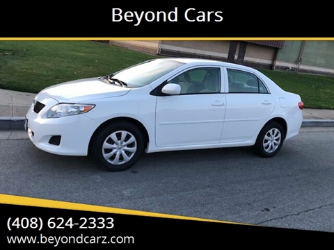 2010 Toyota Corolla LE for sale at Beyond Cars in San Jose CA