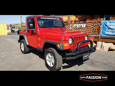 2004 Jeep Wrangler for sale in Saint George, UT