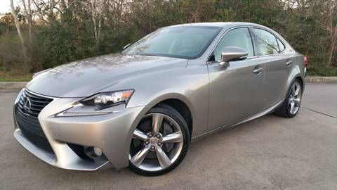 2014 Lexus IS 350 for sale in Houston, TX