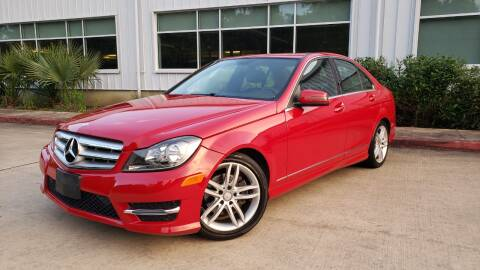 2014 Mercedes-Benz C-Class for sale at Houston Auto Preowned in Houston TX