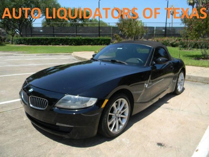 2008 BMW Z4 for sale at AUTO LIQUIDATORS OF TEXAS in Richmond TX