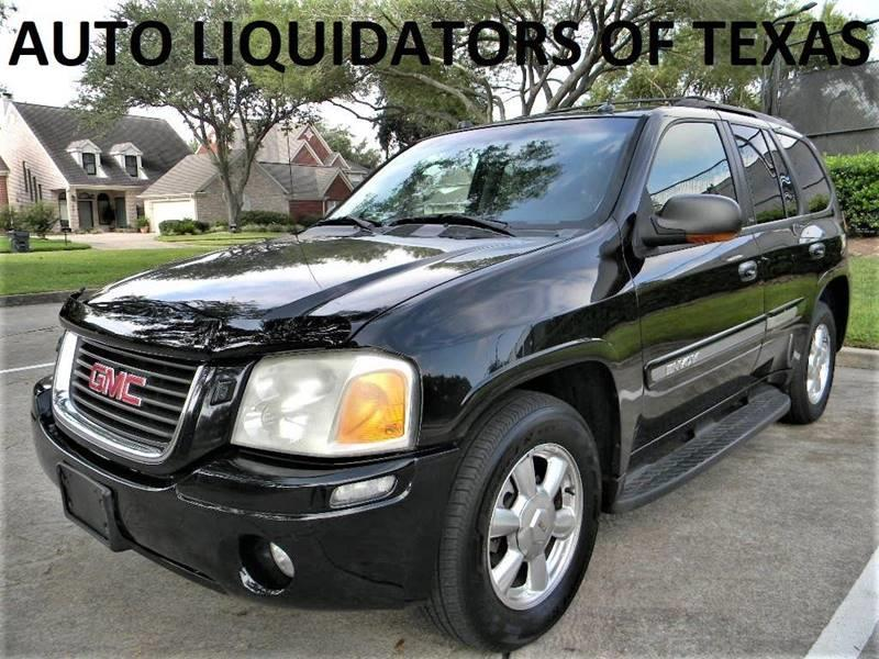 2005 GMC Envoy for sale at AUTO LIQUIDATORS OF TEXAS in Richmond TX