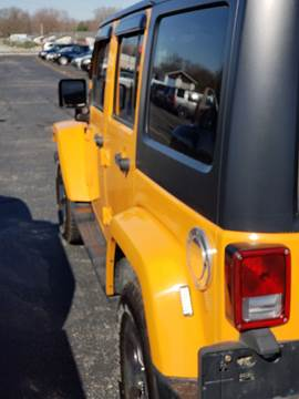 2013 Jeep Wrangler Unlimited for sale in Olney, IL