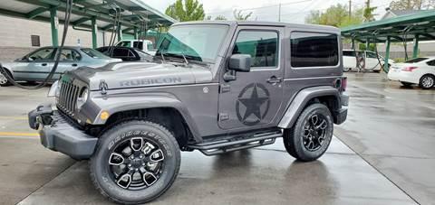 2018 Jeep Wrangler for sale in Spanish Fork, UT