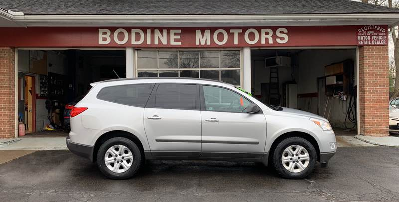 2010 Chevrolet Traverse for sale at BODINE MOTORS in Waverly NY