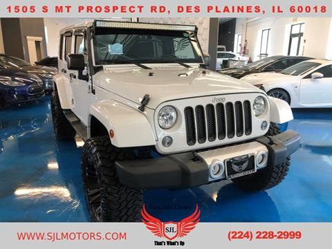 2015 Jeep Wrangler Unlimited for sale in Des Plaines, IL