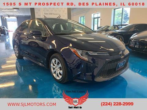 2020 Toyota Corolla for sale in Des Plaines, IL