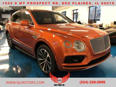 2017 Bentley Bentayga for sale in Des Plaines, IL