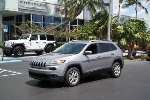 2018 Jeep Cherokee for sale in Plantation, FL