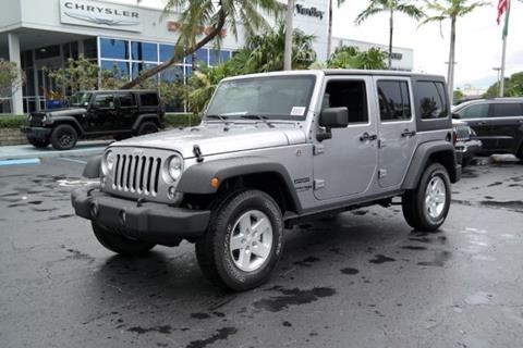2018 Jeep Wrangler Unlimited for sale in Plantation, FL