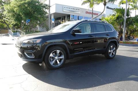 2019 Jeep Cherokee for sale in Plantation, FL