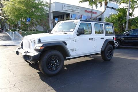 2019 Jeep Wrangler Unlimited for sale in Plantation, FL