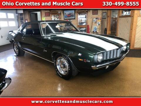 1969 Chevrolet Camaro for sale at Ohio Corvettes and Muscle Cars in North Canton OH