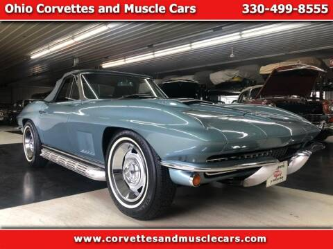 1967 Chevrolet Corvette for sale at Ohio Corvettes and Muscle Cars in North Canton OH