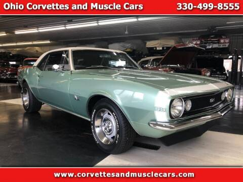 1967 Chevrolet Camaro for sale at Ohio Corvettes and Muscle Cars in North Canton OH