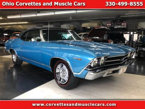 1969 Chevrolet Chevelle for sale at Ohio Corvettes and Muscle Cars in North Canton OH