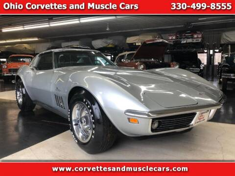 1969 Chevrolet Corvette for sale at Ohio Corvettes and Muscle Cars in North Canton OH