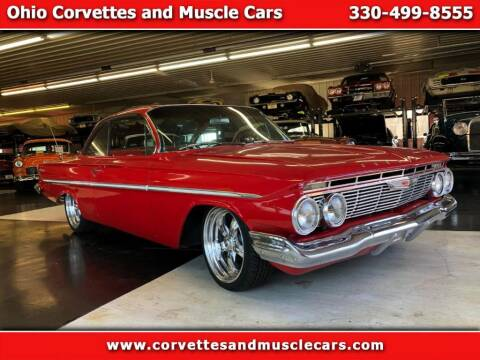 1961 Chevrolet Bel Air for sale at Ohio Corvettes and Muscle Cars in North Canton OH