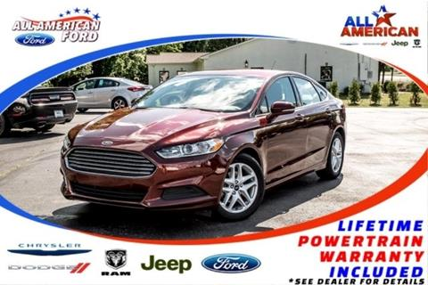 2016 Ford Fusion for sale in Oneonta, AL