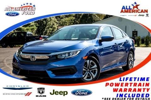 2017 Honda Civic for sale in Oneonta, AL