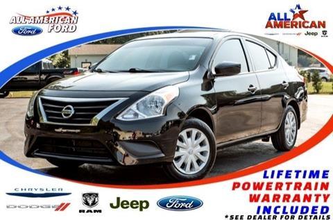 2017 Nissan Versa for sale in Oneonta, AL