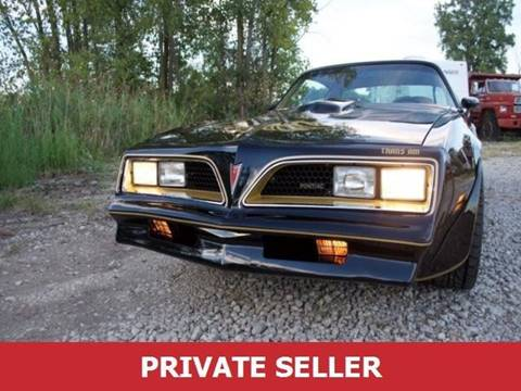 1977 Pontiac Trans Am for sale in Barberton, OH