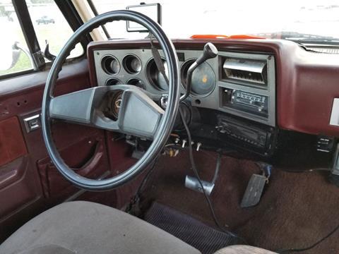 1986 Chevrolet C/K 30 Series