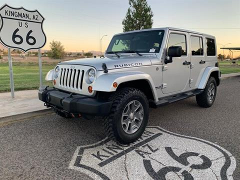 2012 Jeep Wrangler Unlimited for sale in Kingman, AZ