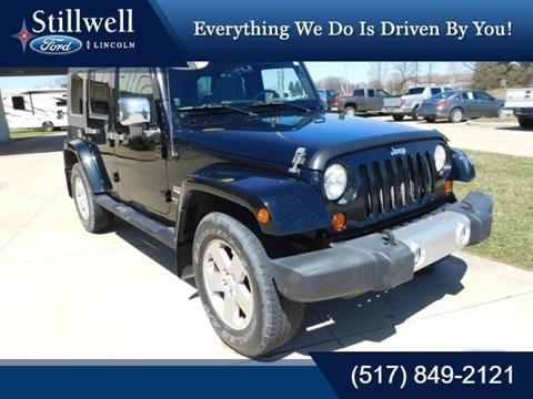 2008 Jeep Wrangler Unlimited for sale in Hillsdale, MI