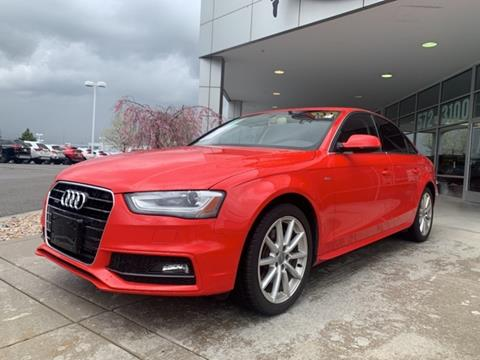 Used 2016 Audi A4 For Sale In Utah Carsforsale Com