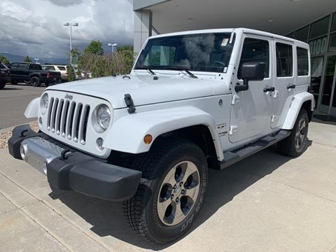 2018 Jeep Wrangler Unlimited for sale in Sandy, UT