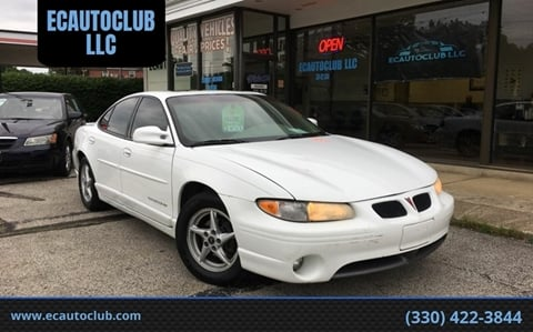 2000 Pontiac Grand Prix for sale in Kent, OH